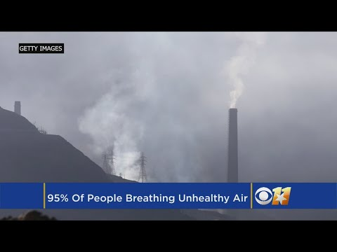 Report Finds More Than 95 Percent Of World's Population Breathing Unhealthy Air