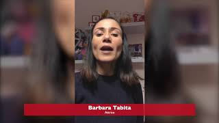 Barbara Tabita per SOS CORONAVIRUS SICILIA