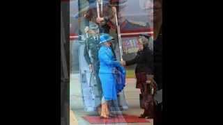 Queen Margrethe of Denmark Visits England