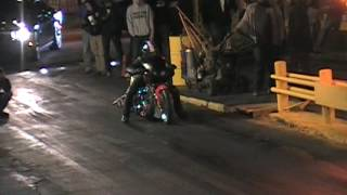 Andy Black Stallion Harley burnout and pass Gut 5 4 17