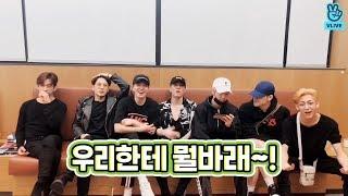 V LIVE GOT7 - 그만끝끝 스포일러 방송에서 스포는 안된다는데요 (GOT7's album spoilers)