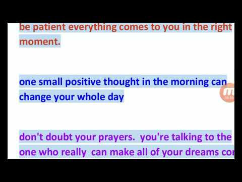 Golden Saying ! 06 Positive Quotes Which Will Brighten Up Your Day