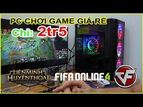 PC 2tr5 Có Chơi được CF, Liên Minh (LOL), FIFA ONLINE 4??? Test PC CHƠI GAME Giá Rẻ LAZADA, SHOPEE