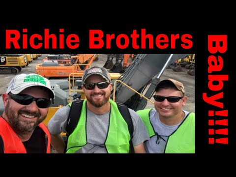 Richie Brothers Auctions Orlando 2020 With The You Tube Crew #letsdig18 #loggerwade #rbauctions