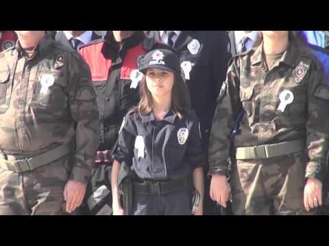 Çanakkale'de Polis Teşkilatı'nın 171.Yıl Dönümü Kutlandı izle