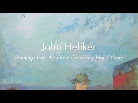 Gallery Talk on John Heliker with Martica Sawin and Patricia Bailey