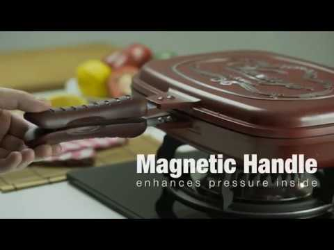 Vantage Magic Pan - Double Grill Pan is your healthy choice !