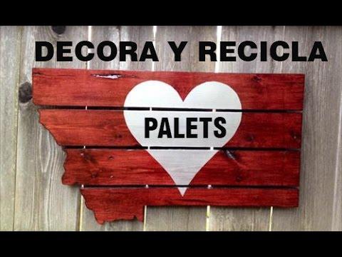 100 Ideas Creativas Con Palets De Madera Youtube