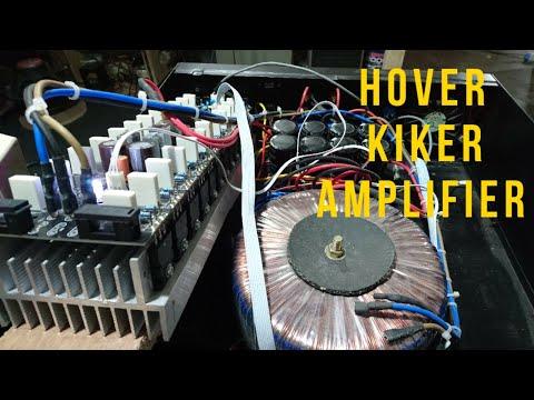 """REVIEW POWER AMPLIFIER KLAS AB """"HOVER KICKER"""""""