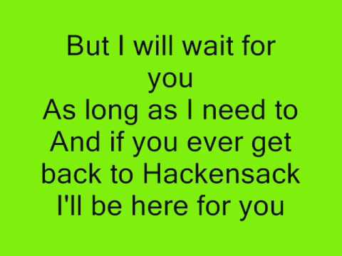 Fountains Of Wayne - Hackensack lyrics
