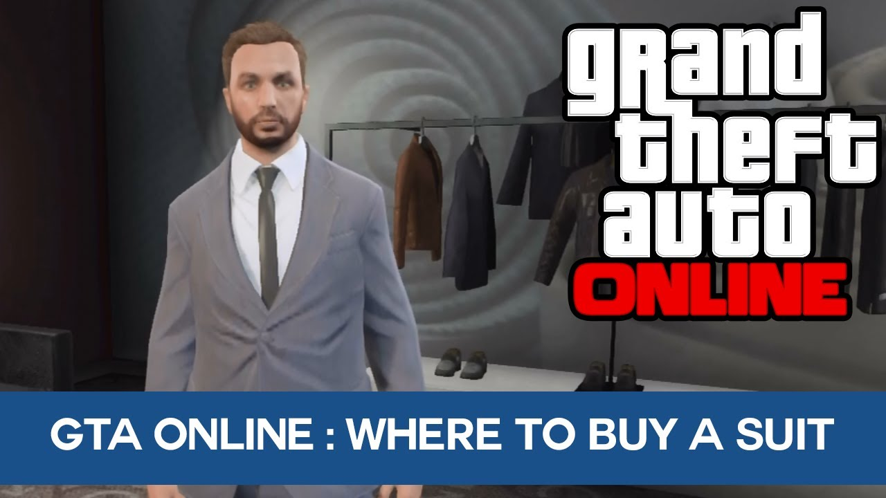 GTA 5 Online: Where To Buy A Suit Online! - YouTube