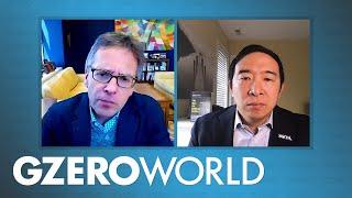 Andrew Yang: UBI is More Necessary in COVID-19 Crisis   Economic Stimulus in Pandemic   GZERO World