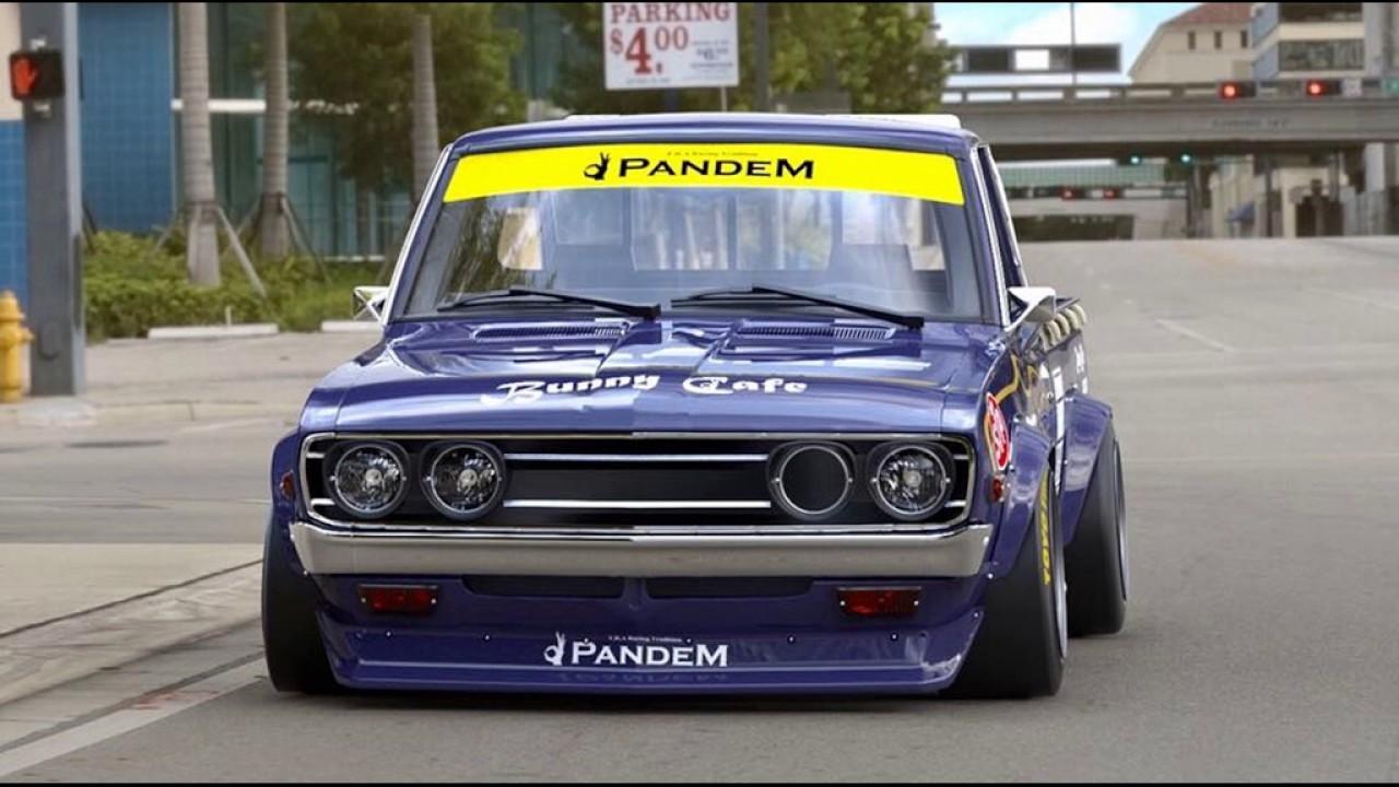 Dia Show Tuning Datsun 620 Pickup mit Pandem rocketbunny ...
