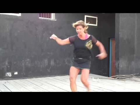 Helena - Zumba Teacher - Santa Maria - Sal - Cape Verde
