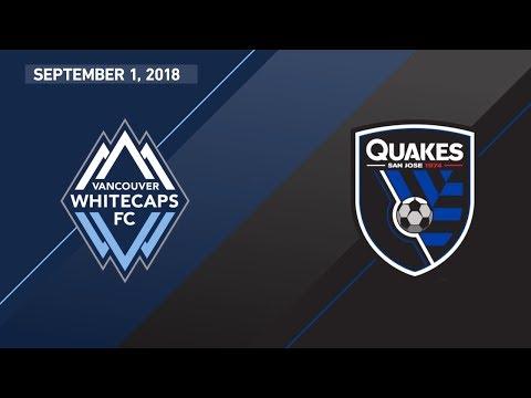 HIGHLIGHTS: Vancouver Whitecaps FC vs. San Jose Earthquakes | September 1, 2018