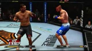 ufc 2009 undisputed demo double rocked funny knockout