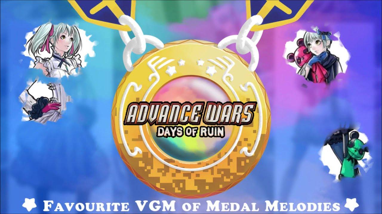 Golden Vgm 1044 Advance Wars Days Of Ruin Mr Bear Youtube