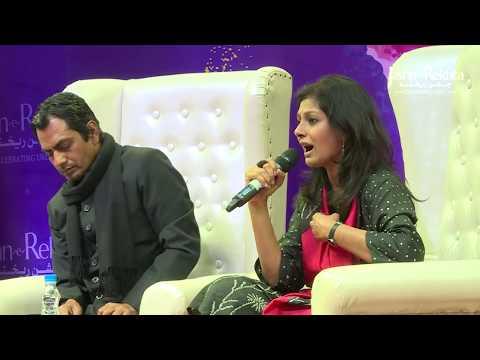 Manto Ke Rubaru  Nawazuddin Siddiqui & Nandita Das with RJ Sayema  JashneRekhta 4th Edition 2017