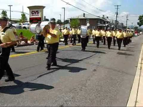 emmaus sentinels in the emmaus pa 250th aniversary parade 15 aug