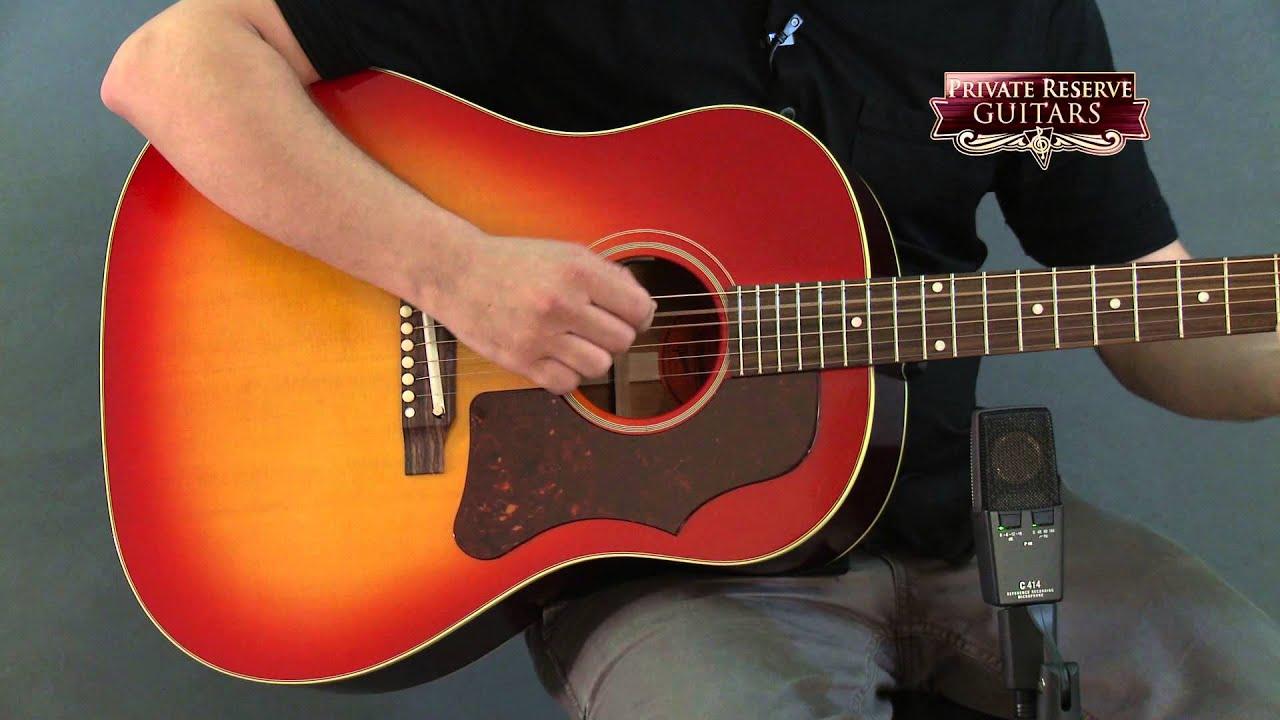 gibson 1965 donovan j-45 guitare acoustique