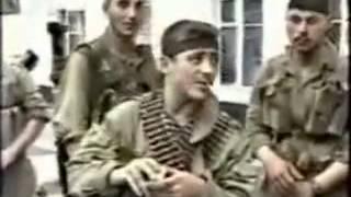 Герои Чеченской войны  Бешеная рота