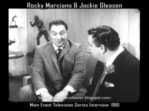 "Tony ""Two-Ton"" Galento -vs- Jackie Gleason | as told to Rocky Marciano (16mm Transfer)"