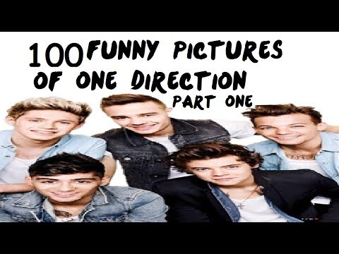 100 Funny Pictures of One Direction | Part One