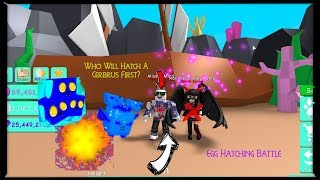 Egg Hatching Battle - Bubble Gum Simulator - Roblox Live