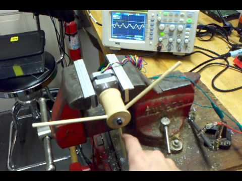 Using a 12v nema 17 stepper motor as a generater doovi for Nema 17 stepper motors with rotary encoders