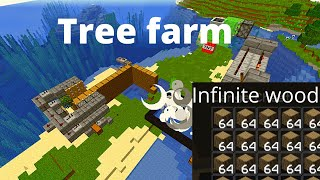 How to make a tree farm in minecraft (1.15/1.16+)