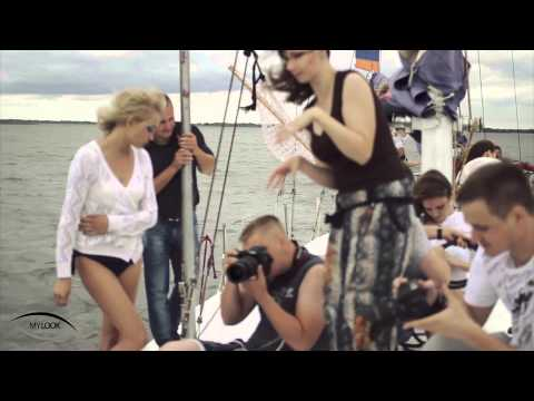 Photosession on a yacht. Backstage. ☆MyLook ☆ Saratov model agency