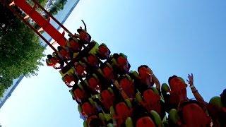 Rougarou Back Seat POV 2015 FULL HD Cedar Point