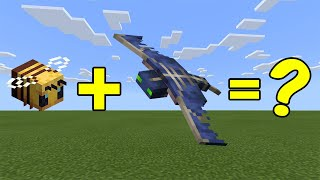 I Combined a Bee and a Phantom in Minecraft - Here's WHAT Happened...