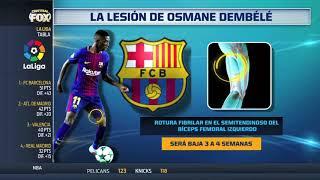 Malas noticias en Barcelona