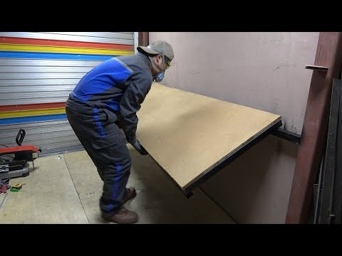 [아마추어] 접이식 작업 테이블 만들기 (Homemade folding table)