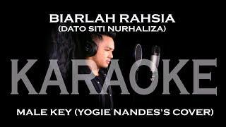 BIARLAH RAHSIA (DATO SITI NURHALIZA) - YOGIE NANDES'S COVER (KARAOKE)