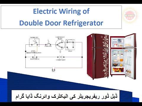 electric wiring of double door refrigerator ii wiring