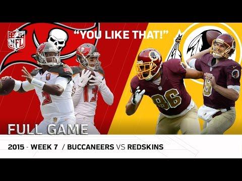 """You Like That!"" Kirk Cousins Leads Redskins Comeback | (Week 7, 2015) | NFL Full Game"