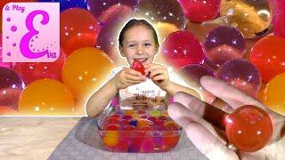орбиз выращиваем большие волшебные шары eva and play