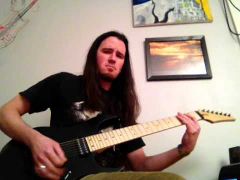 Opeth The Grand Conjuration Ghost Reveries guitar cover - Dimarzio Blaze Ibanez RG7620 EVH 5150 III