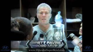 hd super bowl 2010 commercial with brett favre   new hyundai super bowl 44 xliv commercial