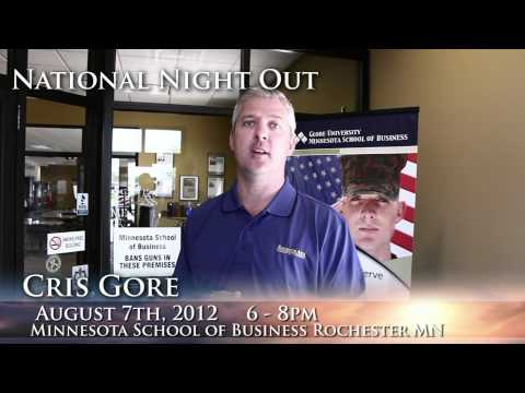 National Night Out at Minnesota School of Business Rochester II