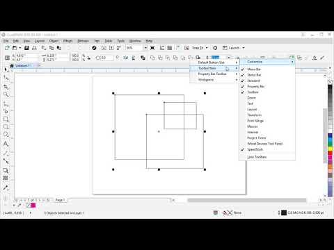 How to Customize the CorelDRAW Workspace