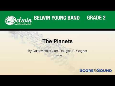 The Planets, arr. Douglas E. Wagner – Score & Sound