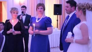 Красивая церемония зажигания свечей на свадьбе 9.05.15