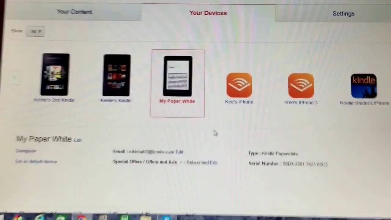 How to find your Kindle com Address & Add authors e-mails to your approved  senders list