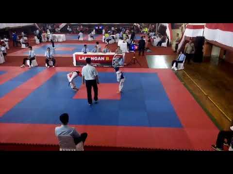 Falcon fighter(merah):kenes maheswari*kejuaraan taekwondo piala gubenur DKI 2018
