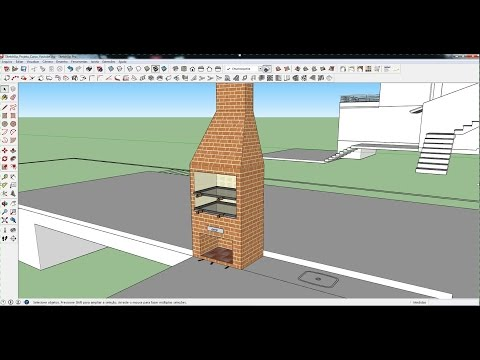 sketchup-2015-aula-30:-modelando-uma-churrasqueira-(curso-bÁsico-gratuito)