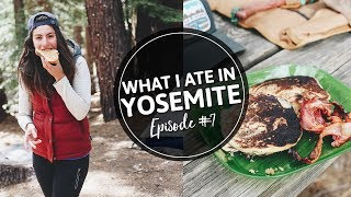 7. WHAT I EAT IN A DAY | On a Camping Trip!