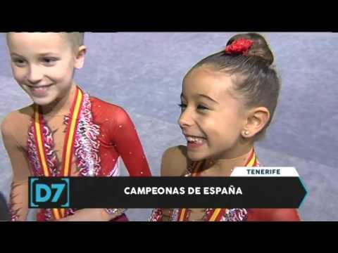 Directo a las 7   Club Odisea de gimnasia rítmica, campeonas de España